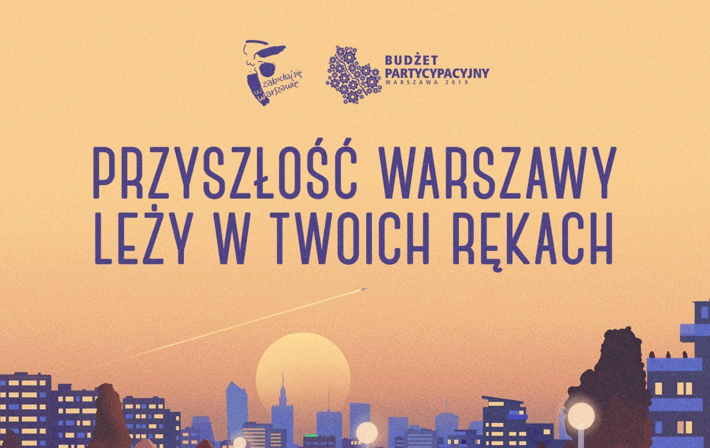 Wyniki budżetu obywatelskiego w Warszawie 2019