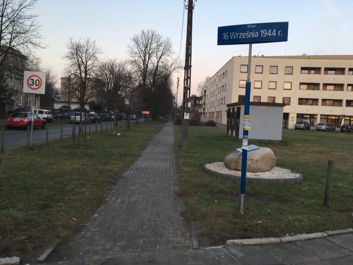 Przetarg na skwer na rogu ul. Chrościckiego i Rybnickiej znów unieważniony