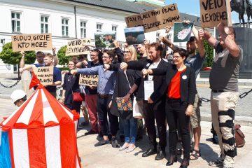 Protestujemy przeciw #LexDeweloper