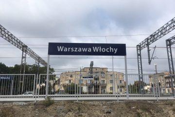 Powrót pociągów na stację Warszawa Włochy