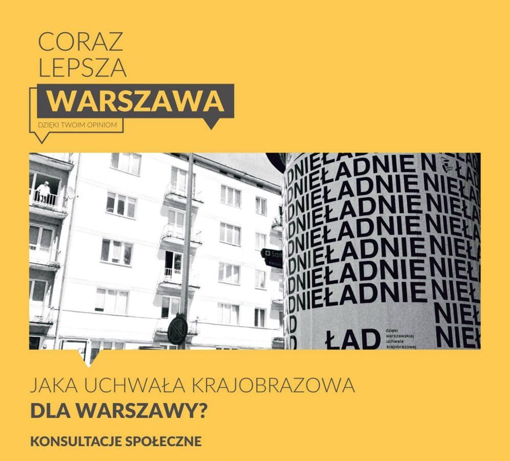 Rada Warszawy zajmie się uchwałą krajobrazową