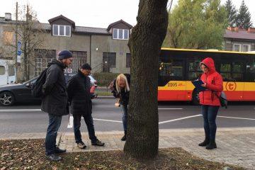 Przegląd stanu drzew na ul. Popularnej