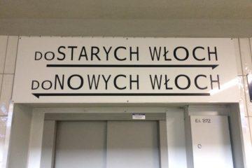 Wnioskujemy o poprawę tablic kierunkowych na stacji Warszawa Włochy