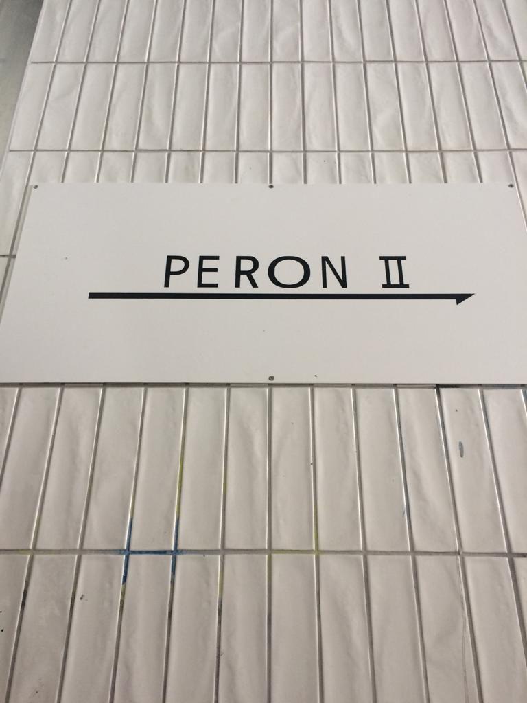 napis PERON II