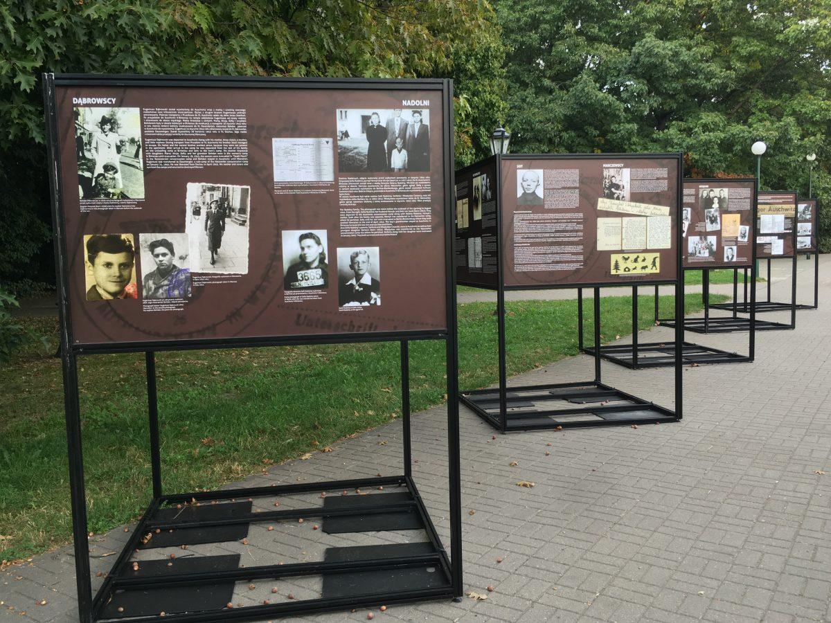 """Wystawa w Parku Kombatantów: """"Ludność powstańczej Warszawy w KL Auschwitz"""""""