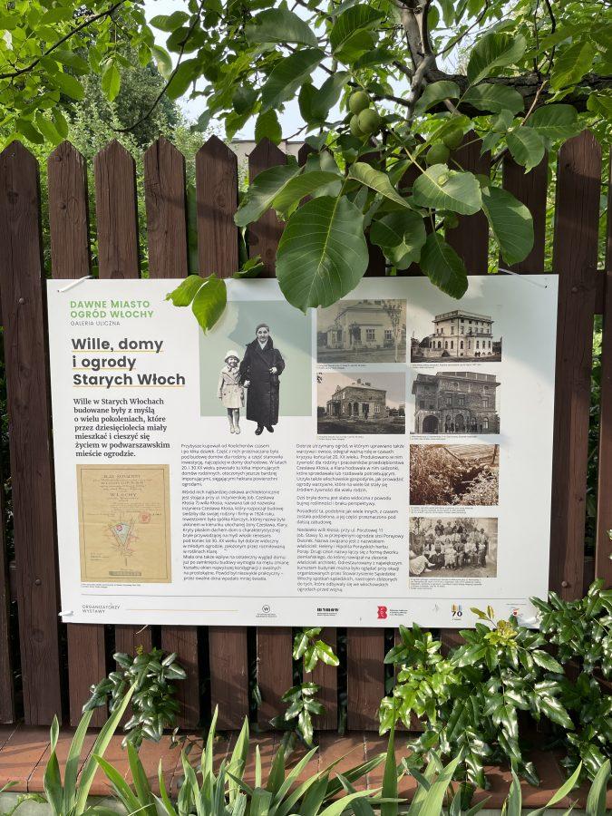 Spacer z przewodnikiem śladami dawnego Miasta Ogrodu Włochy